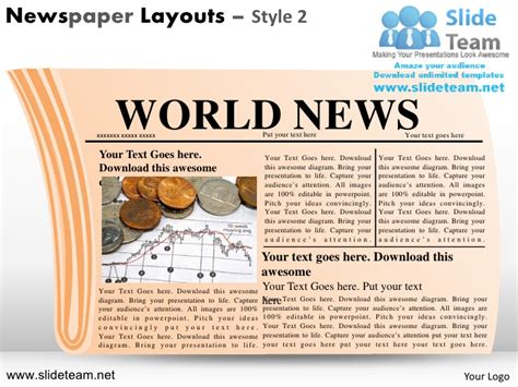newspaper layout and design ppt newspaper layouts design 2 powerpoint ppt slides