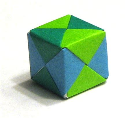 3d Cube Origami - origami cube cube made from 6 pieces of origami paper