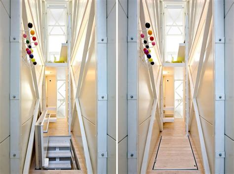 home inside design warszawa inside the coolest tiny narrow house in the world