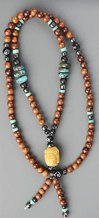 Handmade Mala - handmade mala necklace made by emily silverman