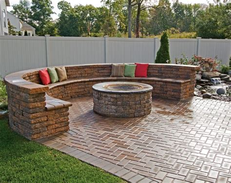 firepit bricks brick bbq pit pit design ideas
