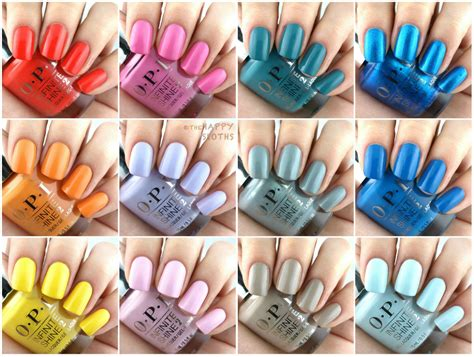 fiji nail color opi fiji collection for summer 2017 review and