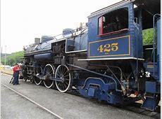 Reading & Northern #425 ran on Lehigh Gorge Scenic Railway ... 425