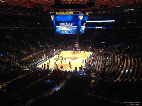 nys section 3 madison square garden section 205 new york knicks