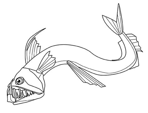 free coloring pages of deep sea creatures