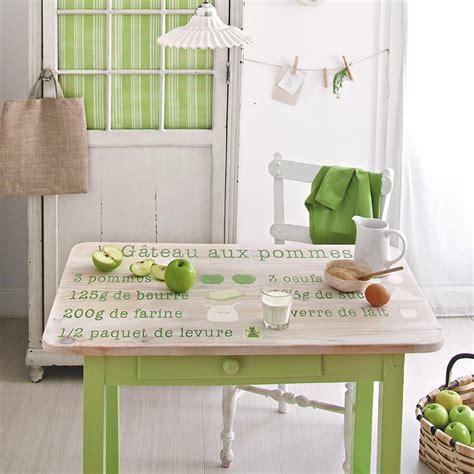 peinture table cuisine peindre une table de cuisine comme une recette