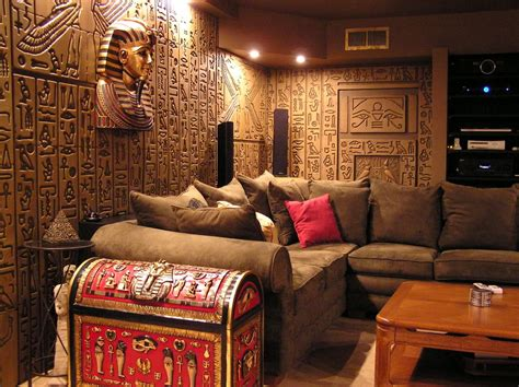 egyptian bedroom theme egyptian theme home egyptian tomb home theater photos