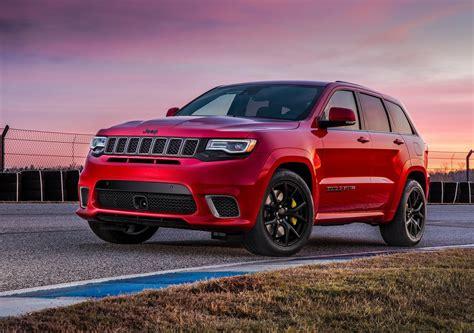jeep hawk track 2018 yeni jeep grand trackhawk ıtıldı