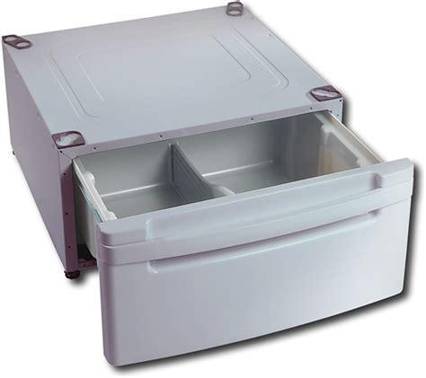 Lg Washer Dryer Pedestal With Storage Drawer by Lg Wdp3s Washer Dryer Laundry Pedestal Washer Dryer