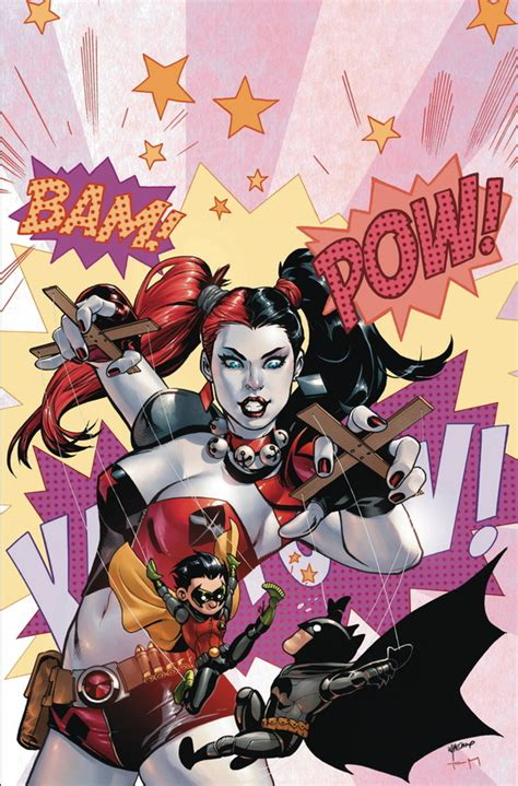 harley quinns cover gallery dc comics reveals february 2015 harley quinn variant cover theme newsarama com