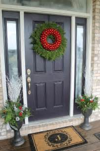 how to decorate your home how to decorate your front door for the holidays the