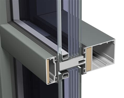 frame and curtain wall steel frame curtain wall detail google search