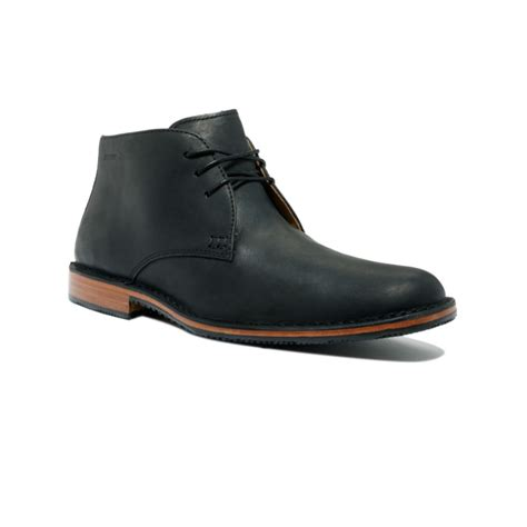 black chukka boots sebago tremont chukka boots in black for lyst