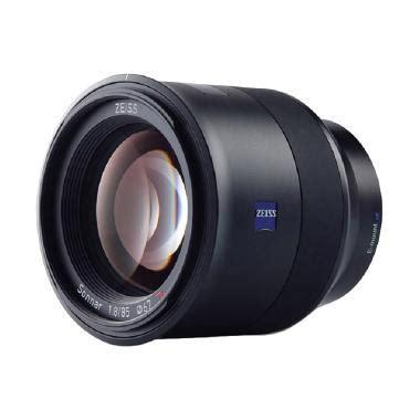Kamera Sony E Mount jual zeiss batis 85mm f 1 8 lensa kamera for sony e mount hitam harga kualitas
