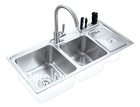 304 Stainless Steel High Quality Mix Bowls Topmount High Quality Stainless Steel Kitchen Sinks