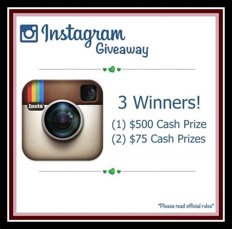 Free Instagram Account Giveaway - summer cash giveaway chocolate chocolate and more