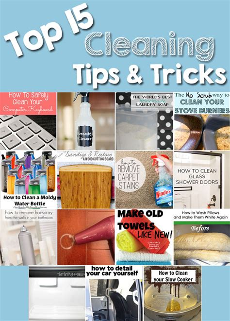 17 best images about cleaning tips and tricks on pinterest stains cleaning schedules and the top 15 cleaning tips tricks the crafting chicks