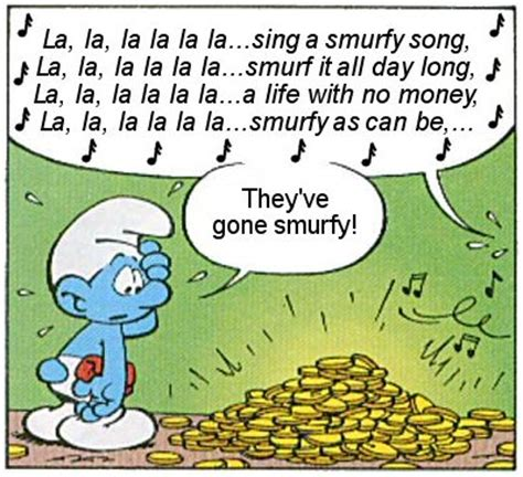 smurfs songs user blog vicgeorge2k9 quot the finance smurf quot fan adaptation