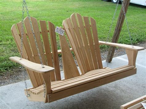 adirondack swing outdoor living pinterest