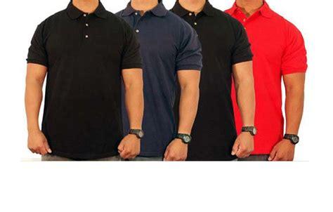 Kaos Polo Shirt Polos Bisa Bordir Gambar Hanya Contoh kaos polo polo shirt rojo konveksi