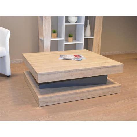chaise de reunion fixy table basse coloris chene clair