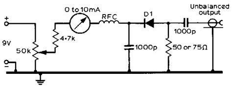 biased diode noise circuitry schematics
