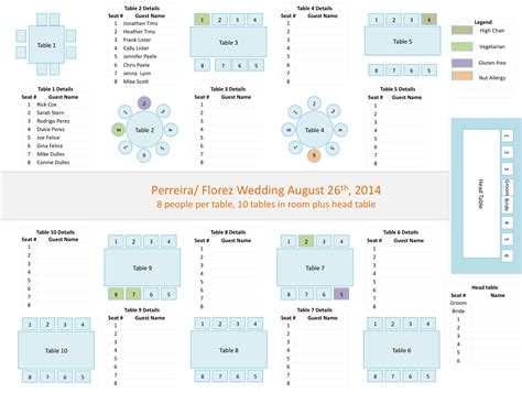 wedding seating chart template weddingprocourses wedding planners tools powerpoint