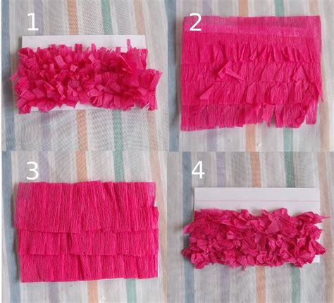 Things To Make With Crepe Paper - pinata crepe paper techniques things to make