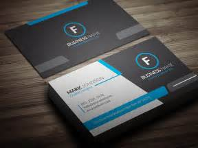 cool blue corporate business card template 187 free 187 cp00018