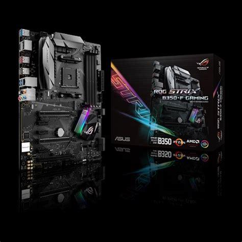 Asus Rog Strix X370f Gaming asus annonce aussi la rog strix b350 f gaming cartes m 232 res