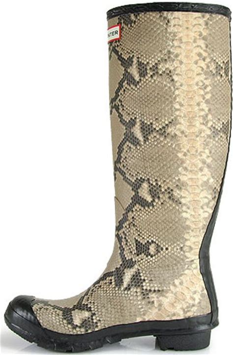 Rains Boot Animal snakeskin boots car interior design