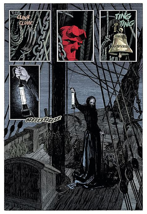 hellboy into the silent b06xkfwzcw hellboy is ocean bound as he sails into the silent sea