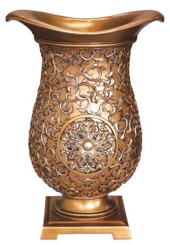 ok lighting golden decorative vase home