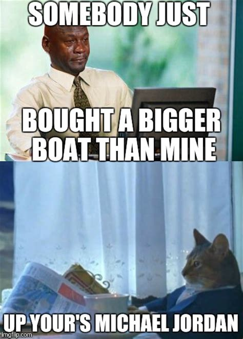 maybe i should buy a boat maybe you should get an even bigger boat imgflip