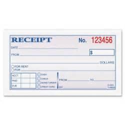 Receipt Template Gallery For Gt Blank Receipt Book