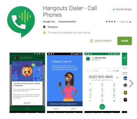 most recent android version make a call on hangouts from your android smartphone