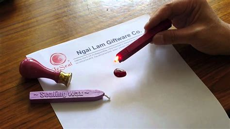 a wax how to use our sealing wax youtube