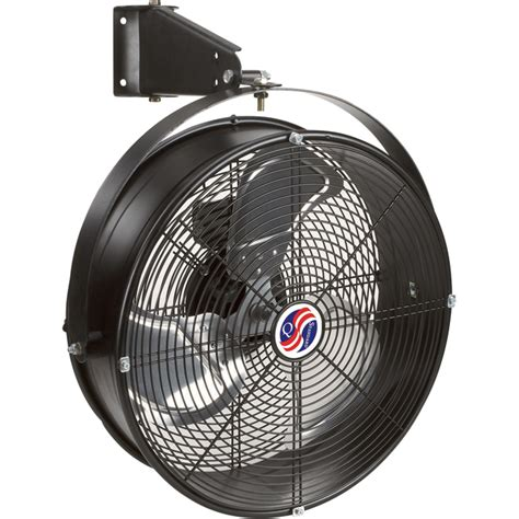 Fan For Garage by Q Standard Garage Fan 18in Model 18923 Wall Mount