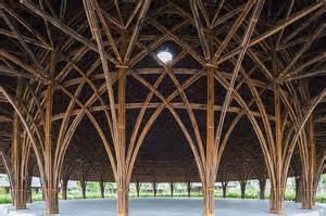 House Builder Program vo trong nghia architects mushroom shaped bamboo