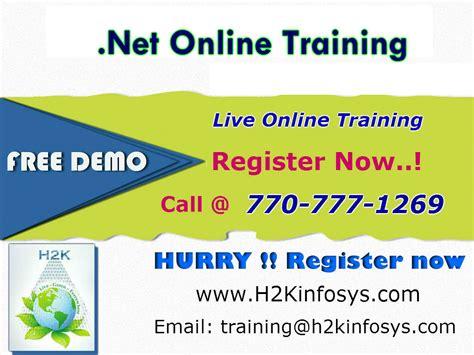 online tutorial net net online training classes and job assistance network