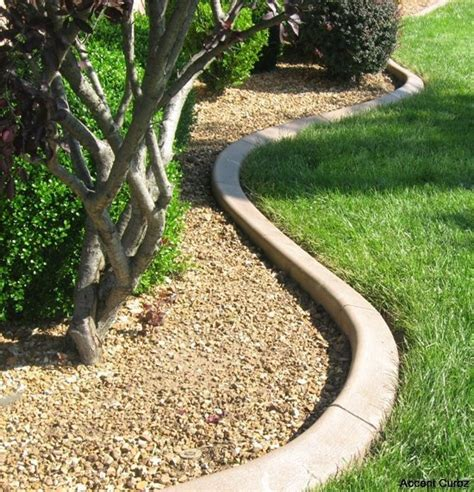 decorative edging pictures accent curbz landscape edging profiles
