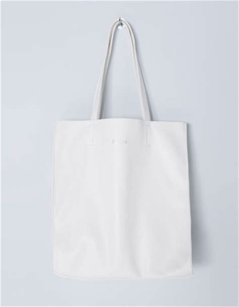 Bershka Textured Mini Tote Bag bershka united kingdom shopper bag