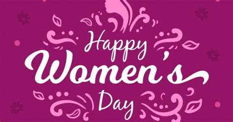 purple womans day background  vector vectorkh