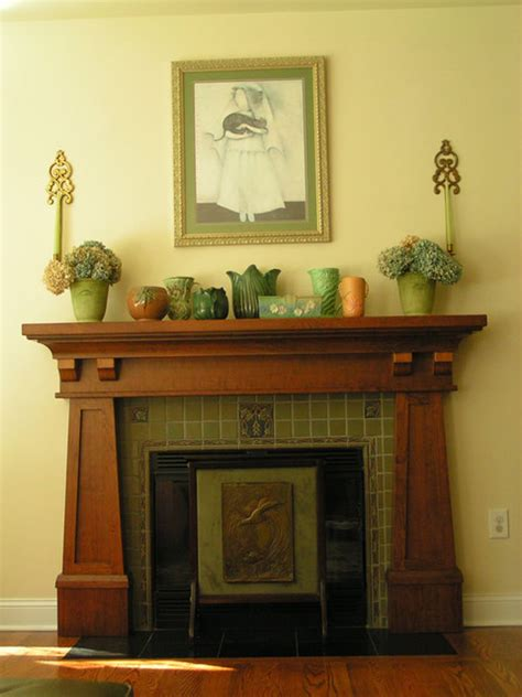 Mission Style Fireplace Surrounds by Craftsman Craftsman Living Room Vancouver By