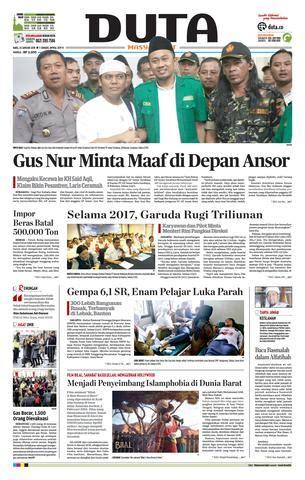 koran duta edisi rabu  januari   koran duta issuu