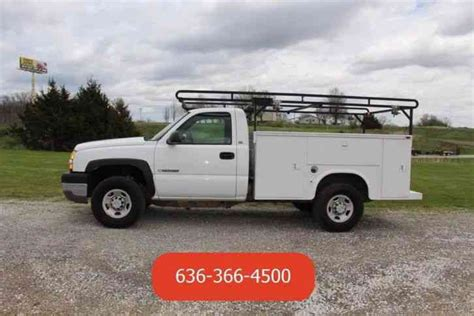 4 5 6 chevy trucks chevrolet 2500hd 2005 utility service trucks