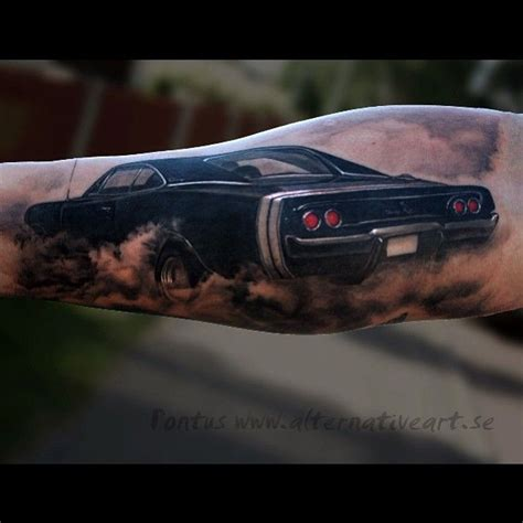 dodge tattoos the gallery for gt dodge challenger tattoos