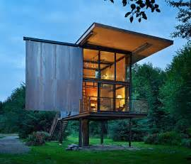 prefab tiny house low maintenance prefab tiny steel country cabin idesignarch interior design architecture
