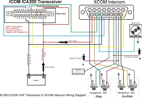 aircraft intercom wiring diagram wiring diagram with