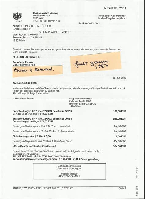 Rekurs Brief Schreiben Chronologie Einer Entm 220 Ndigung Kein Briefgeheimnis In